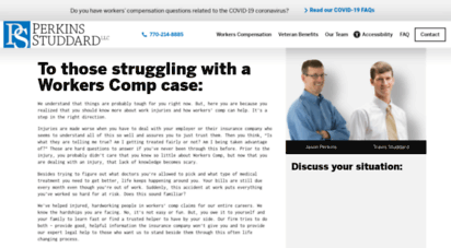 perkinslawtalk.com - perkins studdard law: carrollton workers´ compensation attorney at law