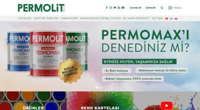 permolitboya.com.tr - iç cephe ve dış cephe boyaları - dekorasyon önerileri - permolit