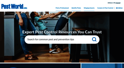pestworld.org - pest resources: control, management, extermination info