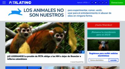 petalatino.com - peta latino: derechos para los animales para la comunidad latina