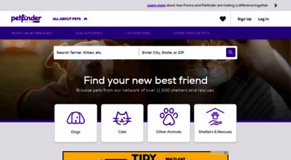 petfinder.com - celebrating over 20 years of pet adoption  petfinder