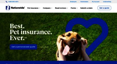 petinsurance.com - pet insurance by nationwideâ®  america´s best pet & vet insurance