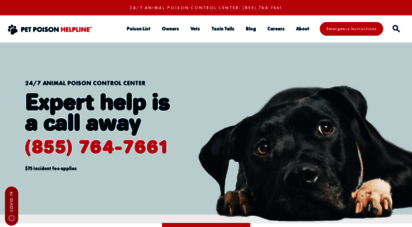 petpoisonhelpline.com - pet poison helpline  animal poison control center