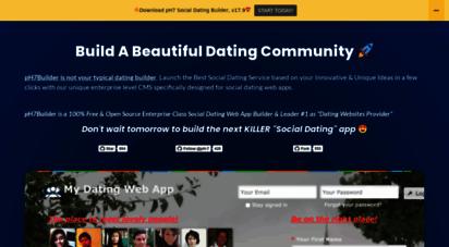 Dating site builder script