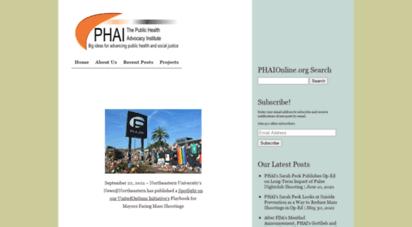 phaionline.org - phai