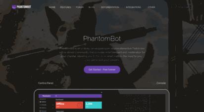 phantombot.tv - phantombot  multipurpose twitch chat bot