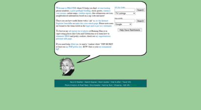 phaster.com - ben´s search engine and us postal zip code guide