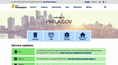 phila.gov - city of philadelphia
