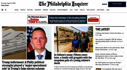 philly.com - inquirer.com: philadelphia local news, sports, jobs, cars, homes