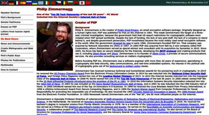 philzimmermann.com - phil zimmermann´s home page