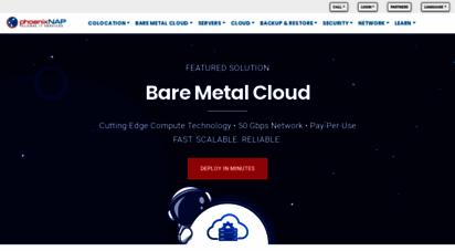 phoenixnap.com - phoenixnap: data center, dedicated servers, cloud, & colocation