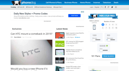 phonedog.com - phonedog  the leader in mobile phone news and reviews