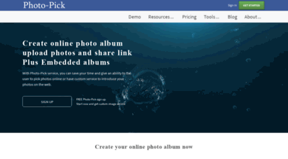 photo-pick.com - online photo album for free