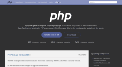 php.net - php: hypertext preprocessor