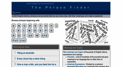 similar web sites like phrases.org.uk
