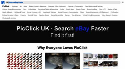picclick.co.uk - picclick uk • search ebay faster