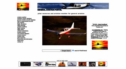 pilotfriend.com - pilot resources aviation resources aviation weather flight training for general aviation