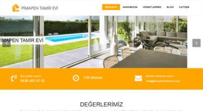 pimapentamirevi.com - pimapen tamiri istanbul bölgesi 7/24 hizmet - pimapen tamir evi