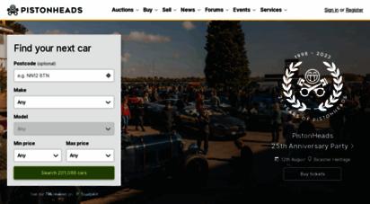 pistonheads.com - pistonheads  cars for sale  car news  motoring forum