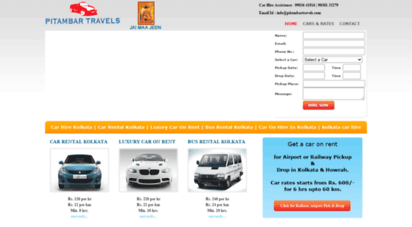 Welcome To Pitambartravels Com Car Hire Kolkata Car Rental