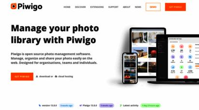piwigo.org - piwigo is open source photo gallery software for the web  piwigo.org