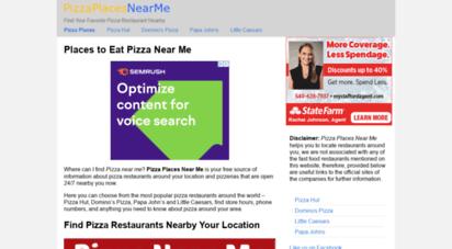 pizza-places-near-me.com - pizza near me