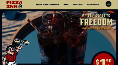 pizzainn.com - pizza inn - baked fresh since 1958