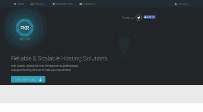 pkrhosting.co.uk - pkr hosting - 1 game :: voice :: web