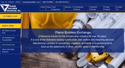 plainsbuilders.com - plains builders exchange, inc.