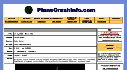 planecrashinfo.com - image