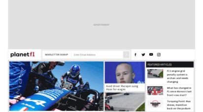 planetf1.com - breaking f1 news, live race coverage, results & standings i planetf1