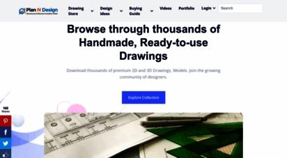 planndesign.com - free autocad drawings, cad blocks, dwg files, cad details, house planning  plan n design