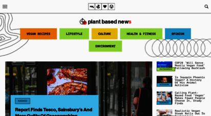 plantbasednews.org - vegan news, plant based living, food, health & more