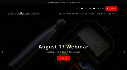 plasticpollutioncoalition.org