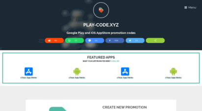 Welcome to Play-code xyz - Play-Code - find and redeem