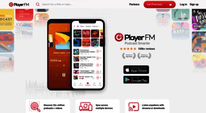 player.fm - player fm - podcast smarter