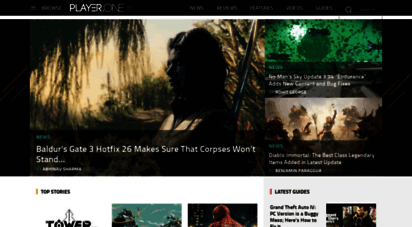 player.one - player.one  gaming news, game reviews, guides, features, videos