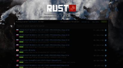 playrust.io - rust:io - rust live map & map generator