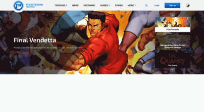 playstationtrophies.org -