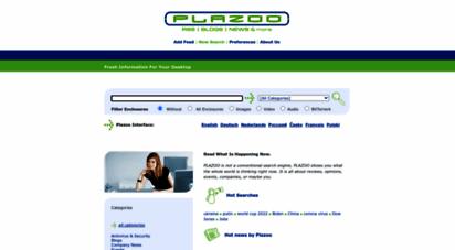 plazoo.com - plazoo - news and blog search engine