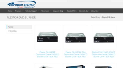 Welcome to Plextools com - Plextor DVD Burner - PX-891SAF
