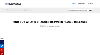 pluginarchive.com - pluginarchive - wordpress plugins and magento extensions archive