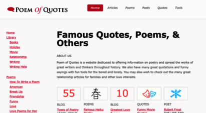 poemofquotes.com - poemofquotes.com - famous quotations - poetry