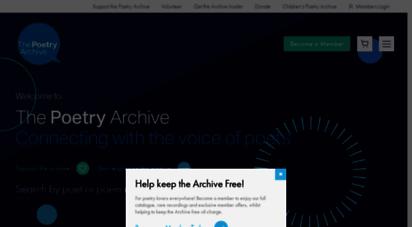 poetryarchive.org - poetryarchive.org  poetry archive