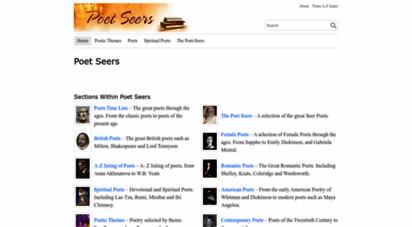 poetseers.org - poet seers
