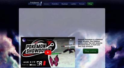 pokemonshowdown.com - pokémon showdown! battle simulator