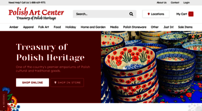 polartcenter.com - polish art center - a treasury of polish heritage
