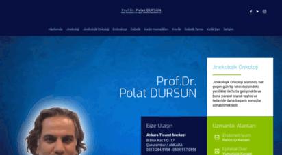 polatdursun.com - ana sayfa  prof.dr. polat dursun kadın hastalıkları ve doğum uzmanı jinekolojik onkoloji