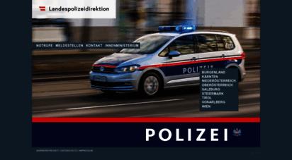 polizei.gv.at - landespolizeidirektionen