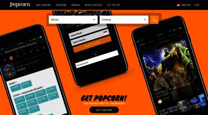 popcorn.app - movie showtimes, tickets, trailers & news  popcorn singapore